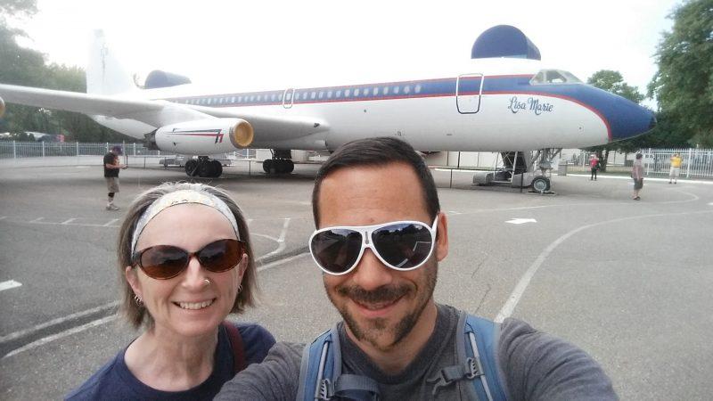 Elvis Convair 808 Jet