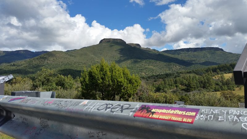 Raton Pass: A Couple Of Drifters Were Here!