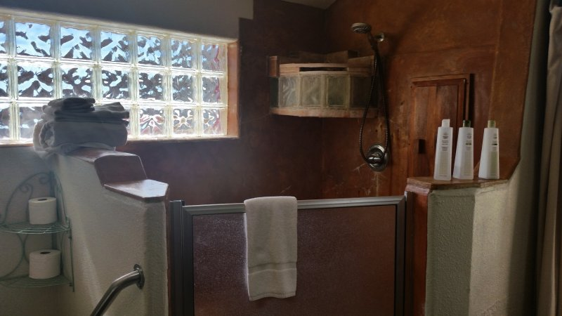 The Twilight Zone Bathroom, Blackstone Hotsprings, Truth or Consequences, New Mexico.