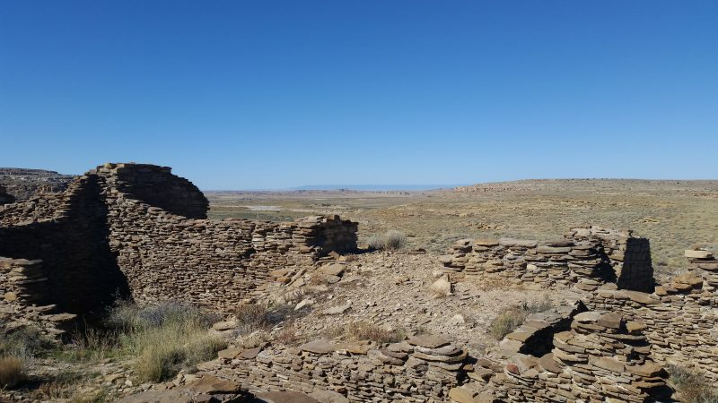 Penasco Blanco Ruins, Chaco Canyon