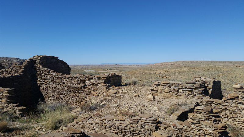 Penasco Blanco Ruins, Chaco Canyon