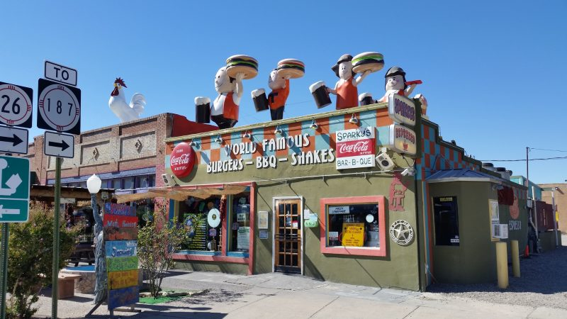 A colorful roadside restaurant in Hatch, New Mexico.