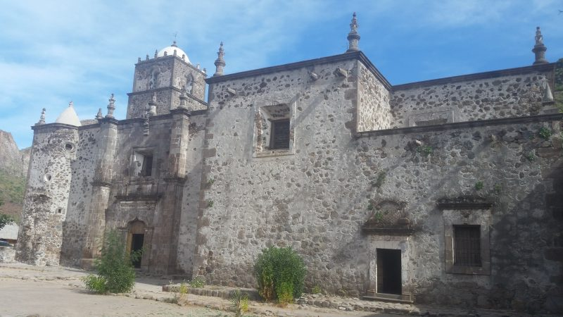 Misión San Francisco Javier de Viggé-Biaundó near Loreto, Mexico.