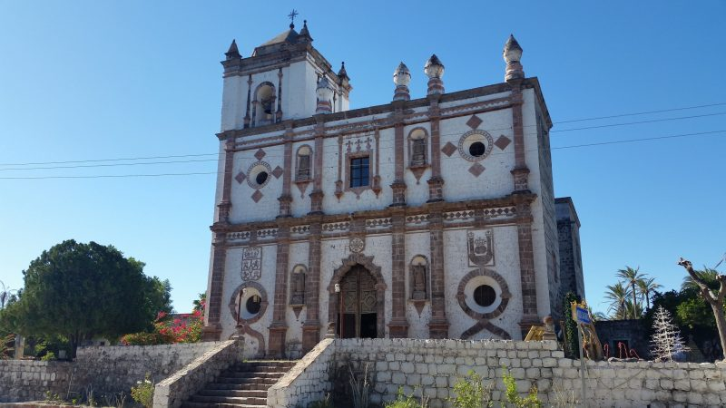 Misión San Ignacio Kadakaamán in Baja Mexico.