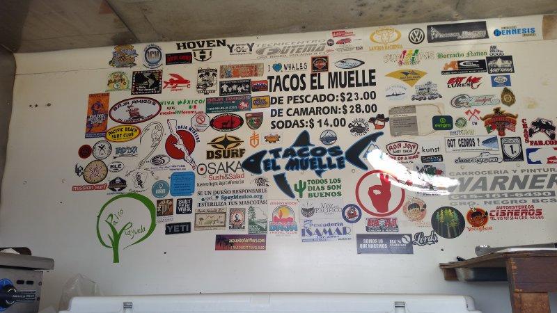 """""""Tacos el Muelle"""" (Tony's Tacos) Guerrero Negro, Baja California Sur, Mexico"""