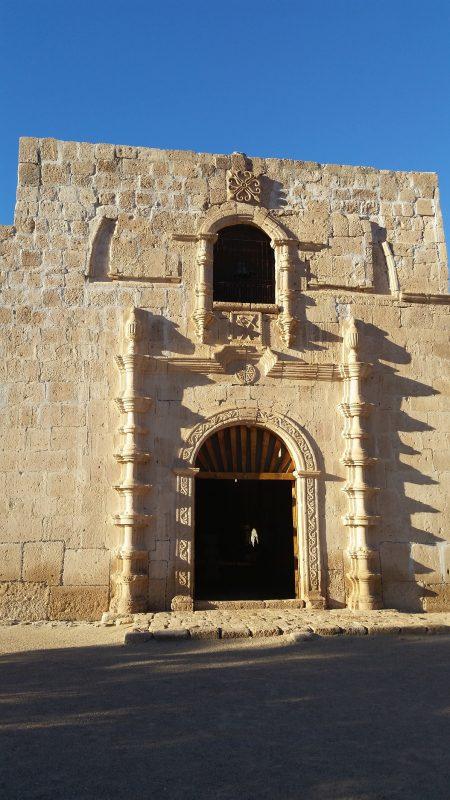 Exterior of Mission san francisco de Boja Adac.