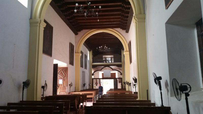 stone cut church baja mission