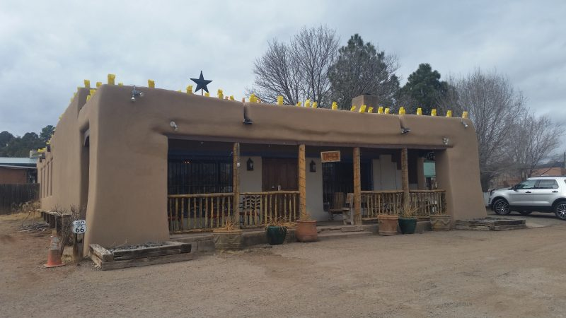 A view of Frankie's at the Casanova in Pecos, New Mexico.