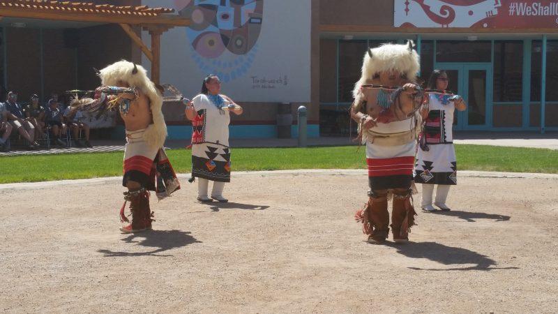 Zuni Pueblo Buffalo dancers.