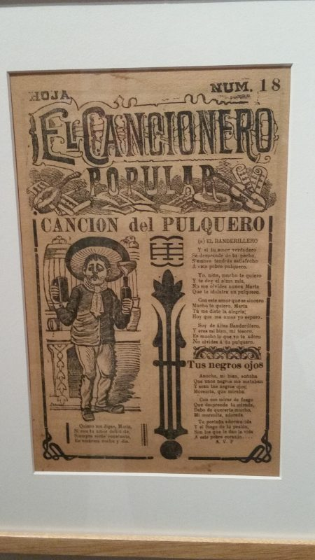 An old comic strip from a periodical in Mexico.