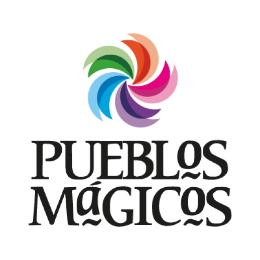 """An official logo for """"Pueblo Magicos"""" in Mexico."""