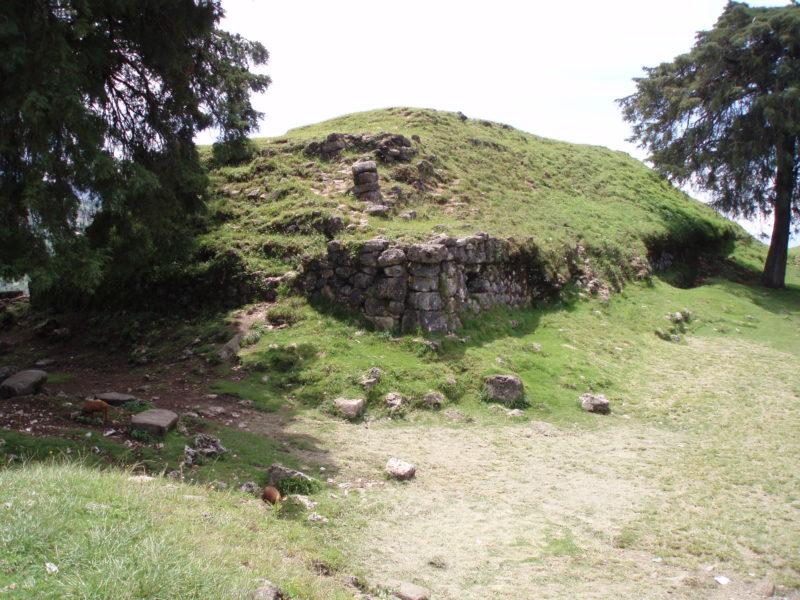 Some ruins in San Mateo Ixtatan, Guatemala.