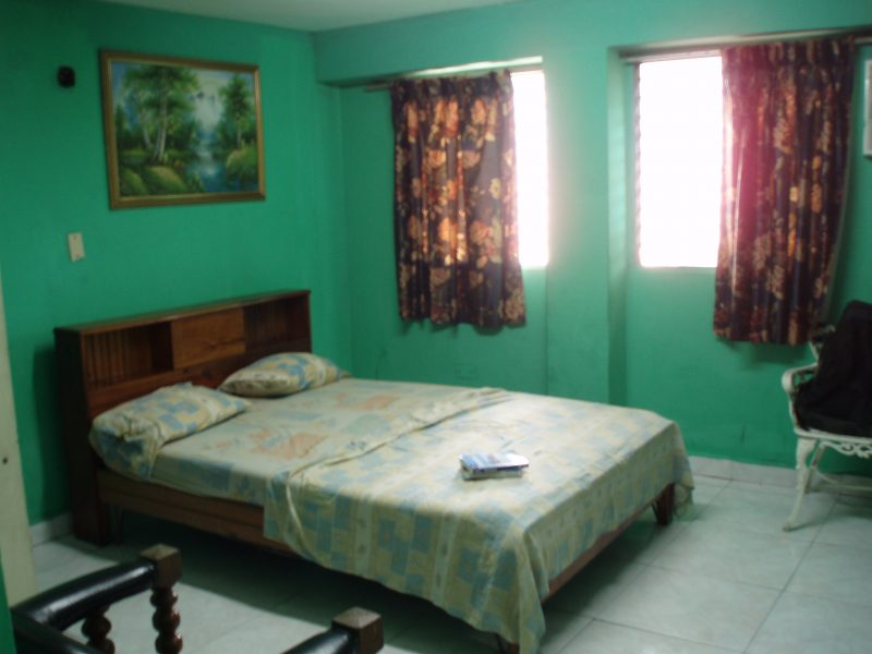 Interior of a room at Hotel ideal in Panama City, Panama.