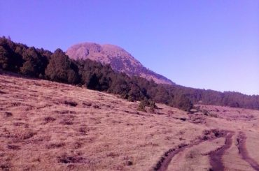 A view of Volcan Tajumulco in Guatemala.